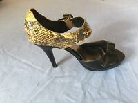 Limited Collection By Marks & Spencer Women Patent Leather Heels Size 6