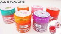 Beauty Treats Fruity Lip Balm Set - All 6 PCs! Fruit Flavor Moisturize Lip Balms
