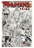 Marvel Comics Inhumans Prime # 1 Variant Cover C2E2 Retailer Summit Exclusive