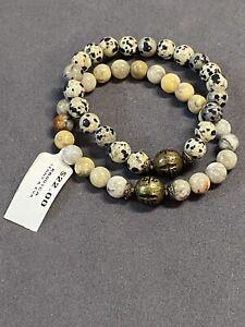 Lenny & Eva Stone Bracelet Set Of 2 Retail $44.00 for both