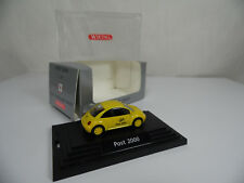 Sw1756, Wiking VW New Beetle Post 2000 1:87 BOX MINT post NEGOZIO