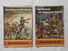 Kolonial -Bücherei - 2 Hefte Nummern 57 + 62 - 30er Jahre - Romanhefte WK2 (A36)