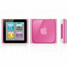Apple iPod nano 6th Generation Pink (16 GB) One Year Warranty