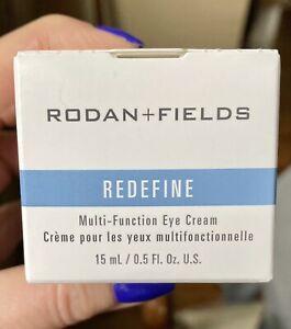 NEW SEALED R + F Redefine Multi-Function Eye Cream 0.5 Fl Oz IN BOX