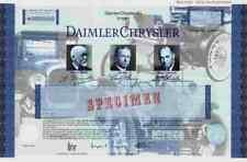 Daimler Chrysler ADR 1998 Stuttgart New York Auburn Hills Mercedes Jeep Dogde SP