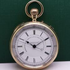 J. HARGREAVES & Co. STOP-WORK 18K SOLID GOLD POCKET WATCH