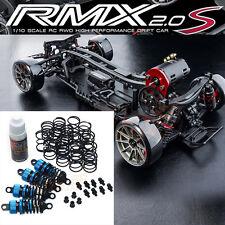MST RMX 2.0 S 1:10 RWD Drift RC Cars Kit 532161 YR 55mm Damper Set Blue #CB1163