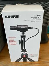 Shure MV88+ Video Kit with Digital Stereo Condenser Microphone for Android,...