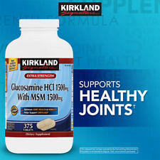 Kirkland Signature Glucosamine with 1500mg with MSM 375 Tablets