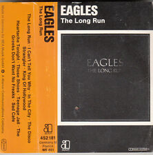 """K 7 AUDIO (TAPE)  THE EAGLES """"THE LONG RUN"""""""
