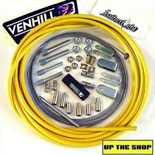 4 meter Yellow Venhill Universal Throttle Cable Kit car, vehicle, race, rally