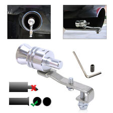 New Car Turbo Sound Whistle Exhaust Pipe Muffler Auto Blow-off Valve Simulator L