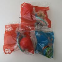 Bundle 3x Peter Rabbit McDonalds Happy Meal Toys NEW AND SEALED 2018 GAMES