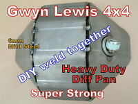 Land Rover Defender Discovery Weld on Diff Pan DIY Heavy Duty  ARB gwynlewis4x4