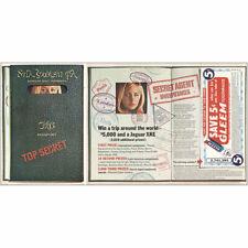 1966 Gleem Toothpaste: Top Secret Vintage Print Ad