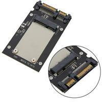 """Pcie PCI-E mSATA bis/auf/zu 2,5 """" SATA SSD Festplatte Konverter Adapter Karte DE"""