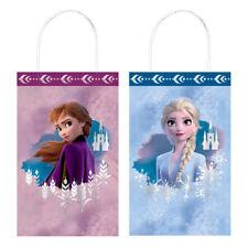 FROZEN 2 KRAFT PAPER FAVOR BAGS (8) ~ Birthday Party Supplies Gift Loot Treat