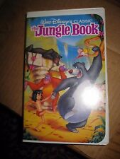 Disney Black Diamond Classic The Jungle Book VHS 1st 1991