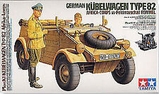 Tamiya 1/16 Kubelwagen Type 82 with Rommel # 36202