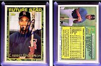 Garret Anderson Signed 1994 Topps #84 RC Card California Angels Auto Autograph