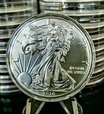 2016 USA US American Eagle Silver Coin Dollar $1 1 oz BU UNC FREE AIRTITE SILBER