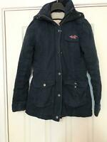 Hollister Blue Jacket Size XS Women's Long Sleeve Great Condition (D642)