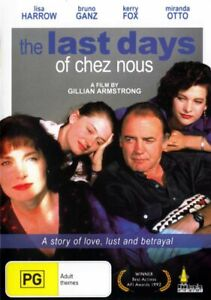 Last Days of Chez Nous DVD - Australian Film _ Lisa Harrow - Miranda Otto