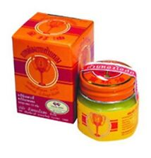 12 g. THAI GOLDEN CUP BALM  Ointment Herbal Medicine Pain Relief Free Shipping