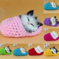 Slipper Kitten Soft Plush Doll Toys Sound Stuffed Animal Baby Children's Gift