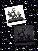 Disney Haunted Mansion Hitchhiking Ghosts Light Up Figure Figurine 50th Anniv.