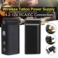 Mini Tattoo Wireless Power Supply Battery For Tattoo Machine RCA/DC