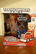 Transformers Prime Weaponizer Optimus Prime Figure 8.5 Inches MINT CONDITION NEW