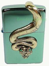 Zippo Golden Anakonda limited Edition  Schlange Snake Anaconda Neu xxx/500