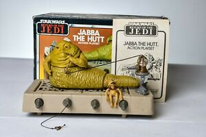 Vintage Star Wars - PLAYSET - JABBA THE HUTT 100% COMPLETE W/ BOX - Kenner