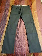 Mens Black 32x32 Straight Leg Third & Army Jeans
