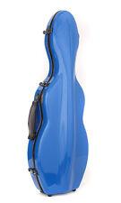 Tonareli Cello Shaped Violin Case - BLUE