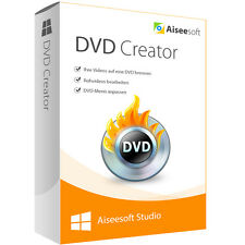 DVD Creator Aiseesoft Studio dt.Vollversion-lebenslange Lizenz ESD Download