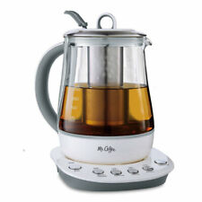 Mr. Coffee BVMC-HTK100 1.2 L Hot Tea Maker and Kettle White