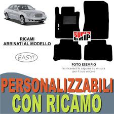 TAPPETI AUTO SU MISURA PER MERCEDES CLASSE E W211 MOQUETTE E GOMMA RICAMO EASY