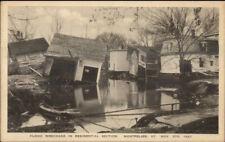 Montpelier VT 1927 Flood Damage VINTAGE EXC COND Postcard #17