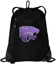 One Size Multicolor Logo Brands NCAA Kansas State Wildcats Unisex Adult Closer Backpack