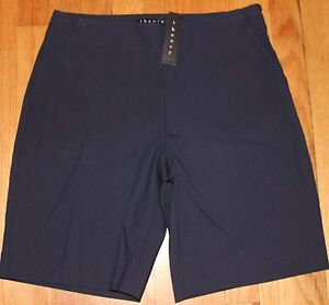 THEORY LIGHT NAVY blue PALANIS APPROACH SHORT SZ 4 US