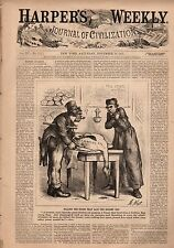 1871 Harpers Weekly November 18-Irish and Catholics killed the Democratic Party