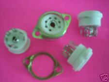 Vacuum Tube Sockets 7Pin Ceramic/New( 7) Chassis Mount