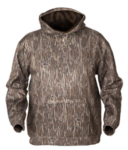 Avery Logo Hoodie Mossy Oak Bottomland Camo Hooded Sweatshirt Greenhead Gear GHG