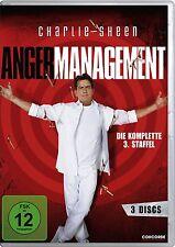 3 DVDs *  ANGER MANAGEMENT - STAFFEL 3 - Charlie Sheen  # NEU OVP $