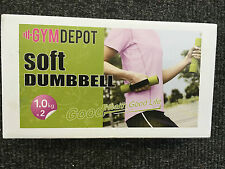 Running Dumbells Dumbbell Soft Small Lifting Strength Workout 1kg Weight Ladies