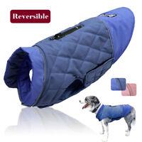 Hundejacke Mantel Winter Weste Hundebekleidung Reflektierend Wasserdicht XS-2XL
