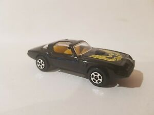 PLAYART - PONTIAC FIREBIRD [BLACK] MINT VHTF LOOSE NO PACKAGING