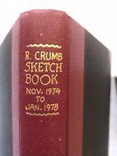 Robert Crumb Sketchbook Nov 1974- Jan 1978 HB Ed In Slipcase